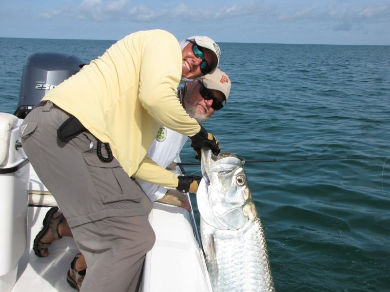 Boca grande fishing charters october forecast for Tarpon fishing charters