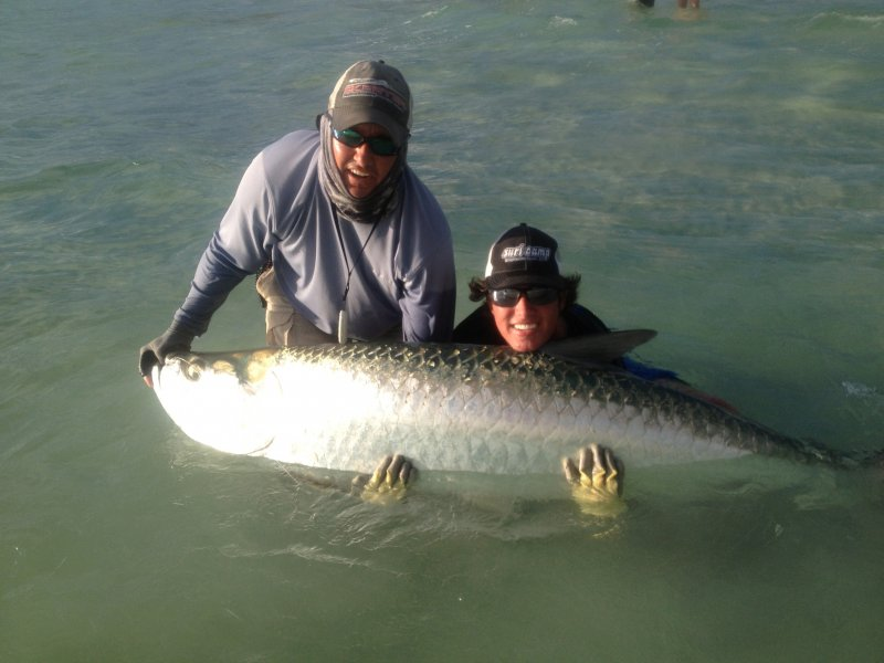 Boca grande fishing charters october forecast for Tarpon fly fishing
